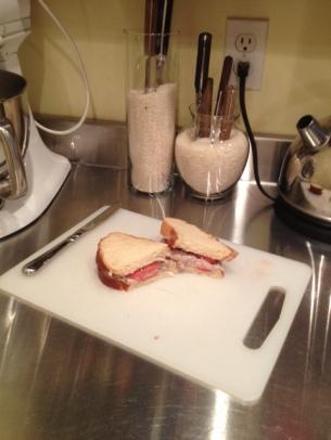 Deviled Beef Sandwich